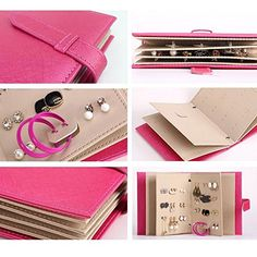 Okayji Portable Jewelry Storage Book Holder Shop Online >> http://www.couponndeal.com/