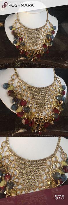 Custom Multi color gold necklace Custom Multi color gold necklace Jewelry Necklaces