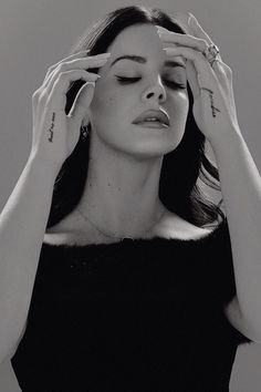 Poisepassionlife: not really nostalgic but Lana's voice sounds like you could of heard it on the radio in the 1950's