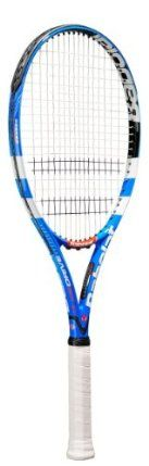 Babolat Pure Drive GT Tennis Racquet [Misc.] by Babolat. $185.00. Headsize: 100 sq in MidPlus. Weight: 10.6oz/300g Unstrung. Recommended Tension: 55-62. Technology: GT, Cortex System, Woofer. Construction: Graphite/Tungsten. The Babolat Pure Drive GT is an exceptionally solid, stable racquet that offers terrific pace, control and spin.