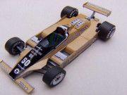 F1 Paper Model - 1980 Italian GP Williams FW07 Paper Car Free Template Download