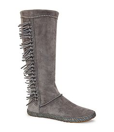 UGG Australia Mammoth Fringe Boots #Dillards