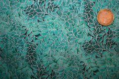 Designerstoffe USA - Patchworkstoffe mit Blättermuster aus Amerika - ein…