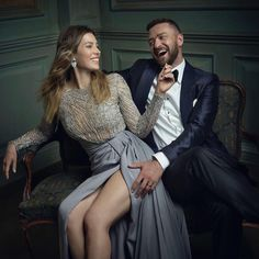"""vanityfair: """" Jessica Biel and Justin Timberlake in the Vanity Fair Oscar Party Portrait Studio Photograph by Mark Seliger. Justin Timberlake, Couple Photography, Portrait Photography, Fashion Photography, Fair Photography, Celebrity Portraits, Celebrity Couples, Celebrity Babies, Wedding Photography Poses"""