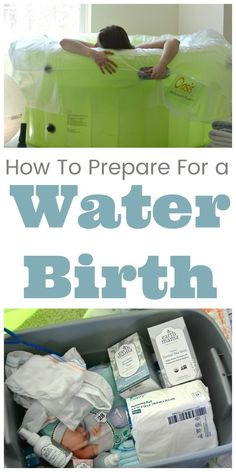 Tips for preparing for a water birth. #WaterBirth #HomeBirth #Childbirth