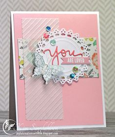 Joyful Creations with Kim: Catered Crop: Vellum Two Ways