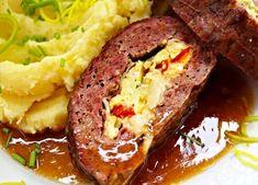 Recept : Rychlá svíčková | ReceptyOnLine.cz - kuchařka, recepty a inspirace Meatloaf, Food, Meat Loaf, Meals