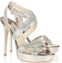 "Jimmy Choo ""Vamp"" Sandals - $775"
