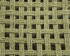 Chair Seat Woven With Sailing Rope Furniture Pinterest
