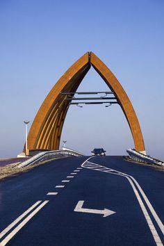 Achterbosch, Onix, John Lewis Marshall · Sneek bridge · Province of Friesland, Netherlands