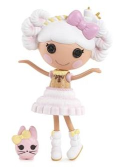 Four new Lalaloopsy dolls: Queenie Red Heart, Sweet Candy Ribbon, Fuzzy Grrrs-A-Lot, and Tosty Sweet Fluff. Plus, two new Lalaloopsy Girls! Marshmallow Bunny, Cute Dolls, Toys For Girls, Doll Accessories, Little Pony, Cute Kids, Baby Animals, Hello Kitty, Eminem