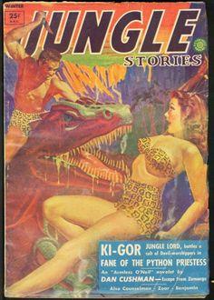 Ki-Gor - Jungle Lord, battles a cult of Devil-worshipers!