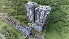 The Queens Peak Condo - the most beautiful condo in Singapore. #QueensPeak