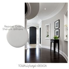 Repose Gray - Neutral Paint Trends for your Living Room || Town Lifestyle + Design || The perfect neutral paint colors for your living space