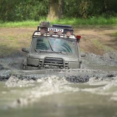Land Rover Discovery 2, Mud Run, Trucks, Canning, Instagram, Truck, Home Canning, Conservation