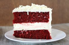 red velvet cheesecake cake. This is AMAZING