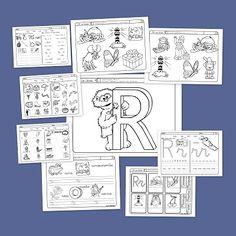 Recursos para el aula: Lectoescritura con la letra R