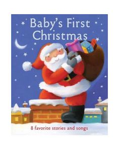 06a51cd558b1d Commemorate Baby s first  Christmas with a special padded storybook full of  8 classic holiday tales