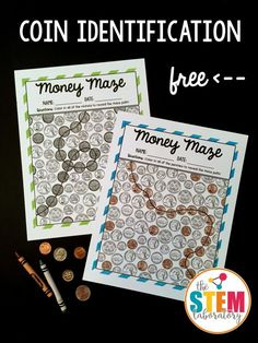 Simple Subtraction Worksheet Word Money Games For The Classroom  Sparkling In Second  Pinterest  3d Objects Worksheet Excel with Reading Bar Charts Worksheet Great For Teaching Coin Identification In First Grade Or Second Grade Latitude And Longitude Worksheet Answers Pdf
