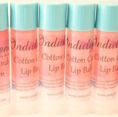 Cotton Candy Vegan Lip Balm
