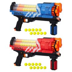 Hello everyone check out our video about painting nerf guns :) Its a FUN FUN video Pistola Nerf, Cool Nerf Guns, Nerf Toys, Nerf War, Baby Doll Accessories, Red Team, Weapons Guns, Artemis, Toys For Boys