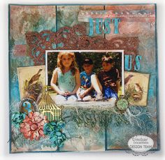 Couture Creations: Just Us by Sue Smyth | Couture Creations Embossing Folders, Fantasia Doily Dies