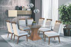 Cadeira Para Mesa De Jantar Andria Móveis Rafana X - R$ 319,98 em Mercado Livre