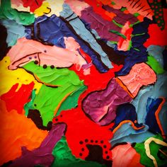 Plasticina Painting, Art, Pintura, Wood, Art Background, Painting Art, Paintings, Kunst, Drawings