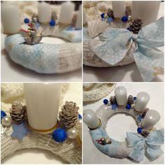 #advent #adventskranz #blue #white #homemade #christmas #december