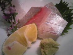 Sashimi of White trevally