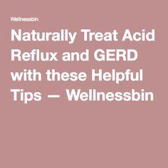 How To Treat Gerd Naturally In Babies