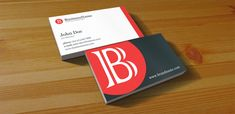 Clean Business Card – Free PSD Print Template