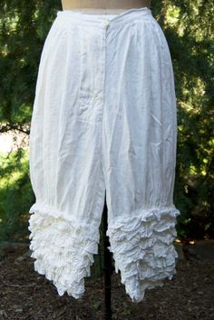 Magnolia Pearl Linen Idgie Bloomers by Society Hill Designs