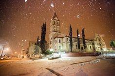Imagem 90/112: 25.jul.2013 - A neve que caiu sobre a cidade de Canoinhas (SC) na terça-feira (23) rendeu belas imagens. As imagens foram enviadas pelo professor Gilmar Luis Mazurkievicz Gilmar Luis Mazurkievicz/Você Manda/UOL