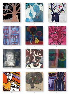The artists of challenge 175 Playing Cards, Presents, Challenges, Artwork, Artist, Gifts, Work Of Art, Artists, Gifs