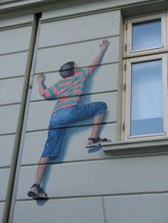 Mural, street art (Copenhagen, København, CPH, KBH, Danmark, Danish, Denmark, travel, Europe, city, capital, visit, beautiful)