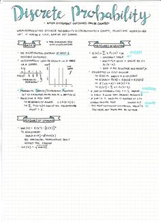 [day 27 of exam smackdown] heres 2/6 of my probability//stats notes for my bound ref. in exam 2! (it works out so well bc i have six marker colours haha) heres part 1! slowly trudging along, 3 days till chinese oral!!! supplies used: - pilot g2 in...