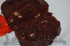Chec cu ciocolata, nuci si prune (de post) Vegan Recipes, Vegan Food, Brownies, Sweets, Cooking, Desserts, Cakes, Note, Sweet Treats