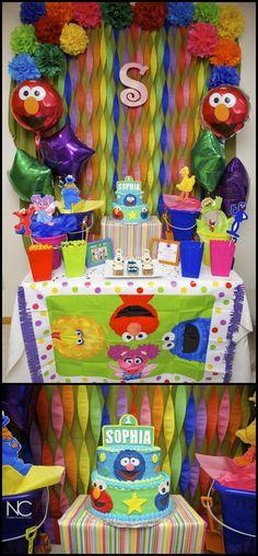 Sophia's First Birthday Sesame Street Theme » Nate Crouch Photography Blog