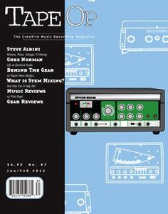 Tape-Op best recording mag and it's FREE!