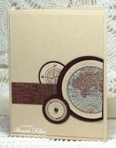 The Open Sea, Around the World by bon2stamp - Cards and Paper Crafts at Splitcoaststampers