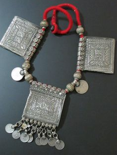 Old Tribal Jewelry Necklace from Kashmir                                                                                                                                                                                 More