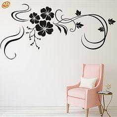AYA™ DIY Wall Stickers Wall Decals, Florals Pattern PVC Wall Stickers 4907864 2017 – $11.43