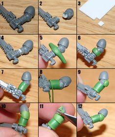 Tutorial – Artscale Space Marine (v2) | Master of the Forge