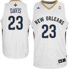 eddb9245a Shop Anthony Davis New Orleans Pelicans White Jersey Lastest black