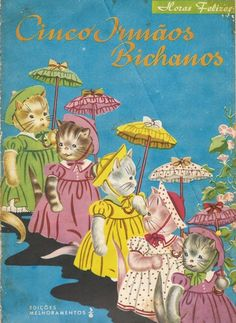 27 best antigo livro infantil images on pinterest childrens books livro infantil cinco irmos bichanos fandeluxe Images