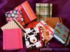 Cartonagem - Caderninhos de anotação