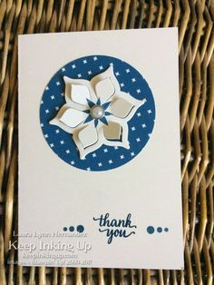 Thank you notecard using the Eastern Palace bundle by Keep Inking Up
