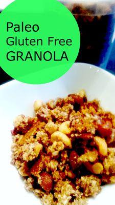 Paleo friendly Granola!