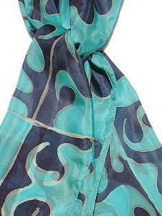 Echarpe de seda